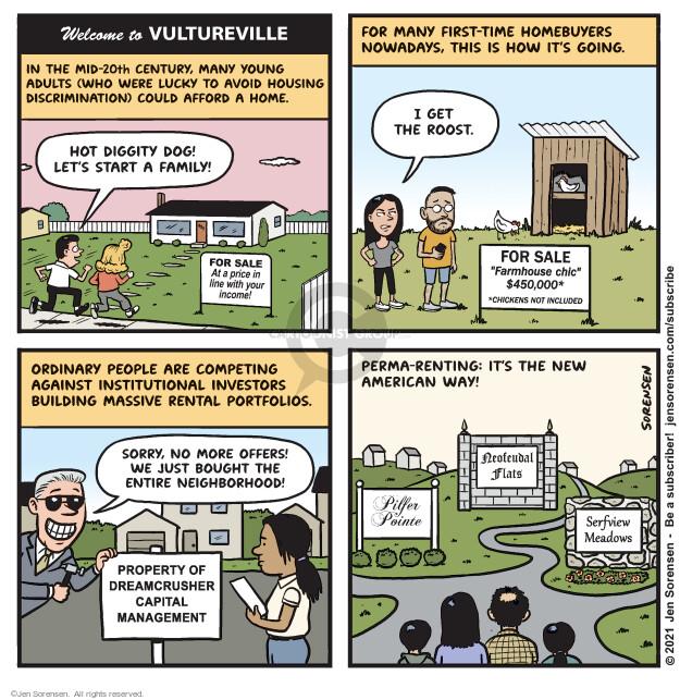 Jen Sorensen  Jen Sorensen's Editorial Cartoons 2021-06-14 discrimination