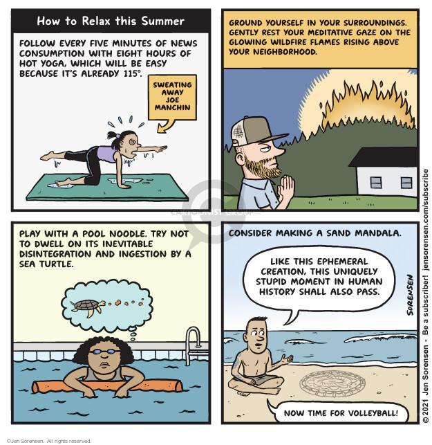 Jen Sorensen  Jen Sorensen's Editorial Cartoons 2021-06-22 climate change