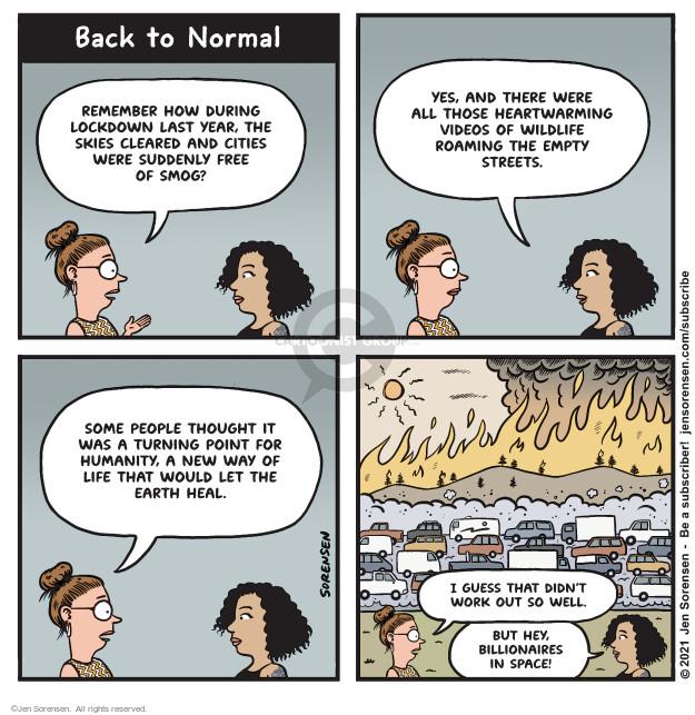 Jen Sorensen  Jen Sorensen's Editorial Cartoons 2021-07-20 car