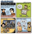 Cartoonist Jen Sorensen  Jen Sorensen's Editorial Cartoons 2008-08-04 geek