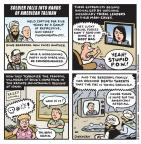 Cartoonist Jen Sorensen  Jen Sorensen's Editorial Cartoons 2014-06-09 war