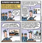 Cartoonist Jen Sorensen  Jen Sorensen's Editorial Cartoons 2015-04-27 violence