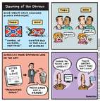 Cartoonist Jen Sorensen  Jen Sorensen's Editorial Cartoons 2015-07-06 confederate flag