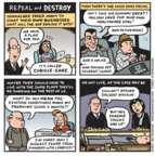 Cartoonist Jen Sorensen  Jen Sorensen's Editorial Cartoons 2017-01-09 health care