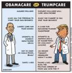 Jen Sorensen  Jen Sorensen's Editorial Cartoons 2017-03-13 Donald Trump
