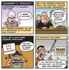 Cartoonist Jen Sorensen  Jen Sorensen's Editorial Cartoons 2017-03-27 politics