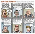Cartoonist Jen Sorensen  Jen Sorensen's Editorial Cartoons 2017-06-26 GOP