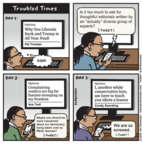 Cartoonist Jen Sorensen  Jen Sorensen's Editorial Cartoons 2018-03-12 Donald Trump media