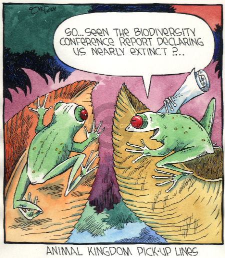 Comic Strip Dave Coverly  Speed Bump 2002-00-00 endangered species