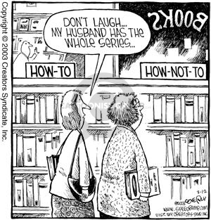 Cartoonist Dave Coverly  Speed Bump 2003-03-12 library