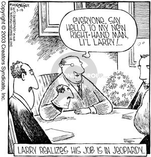 Cartoonist Dave Coverly  Speed Bump 2003-03-18 sock