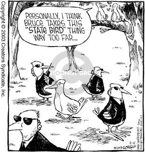 Comic Strip Dave Coverly  Speed Bump 2003-06-16 bird