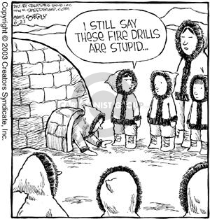 Comic Strip Dave Coverly  Speed Bump 2003-06-23 necessary