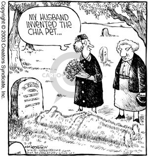 Cartoonist Dave Coverly  Speed Bump 2003-07-19 invention