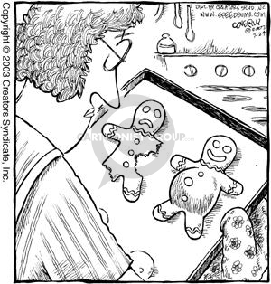 Cartoonist Dave Coverly  Speed Bump 2003-07-24 bake