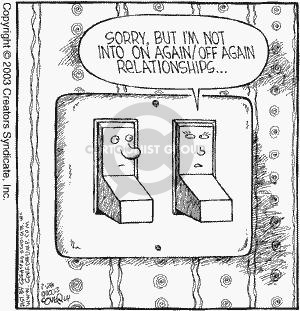 Comic Strip Dave Coverly  Speed Bump 2003-03-28 electrical
