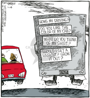 Cartoonist Dave Coverly  Speed Bump 2007-07-28 highway