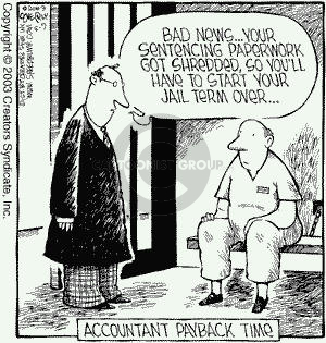 Comic Strip Dave Coverly  Speed Bump 2003-05-09 sentencing