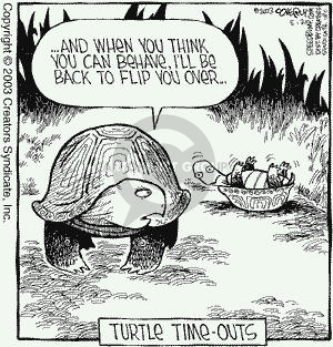 Comic Strip Dave Coverly  Speed Bump 2003-05-21 outside