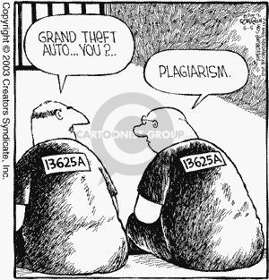 Comic Strip Dave Coverly  Speed Bump 2003-06-05 plagiarism