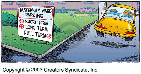 Comic Strip Dave Coverly  Speed Bump 2003-10-12 expecting