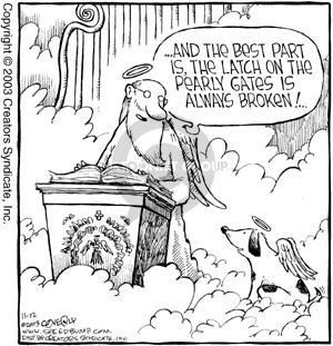 Comic Strip Dave Coverly  Speed Bump 2003-11-12 get