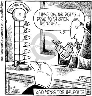 Comic Strip Dave Coverly  Speed Bump 2003-11-28 sentencing