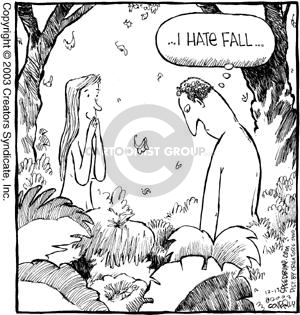 Comic Strip Dave Coverly  Speed Bump 2003-12-13 comment