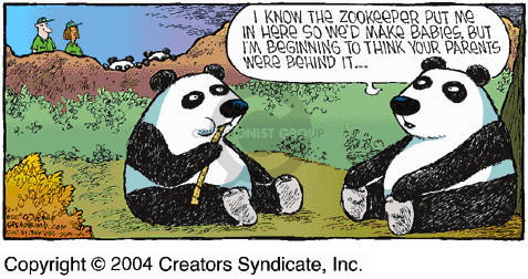 Comic Strip Dave Coverly  Speed Bump 2004-02-01 endangered species