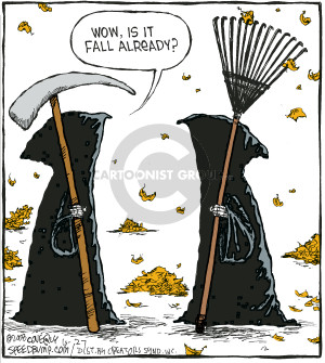 Comic Strip Dave Coverly  Speed Bump 2008-10-27 gardening