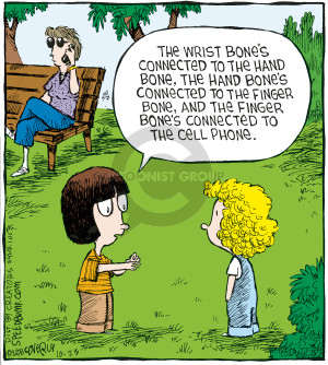 Comic Strip Dave Coverly  Speed Bump 2008-10-28 hand