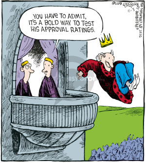 Comic Strip Dave Coverly  Speed Bump 2008-11-03 approval rating