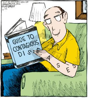 Comic Strip Dave Coverly  Speed Bump 2008-11-25 disease