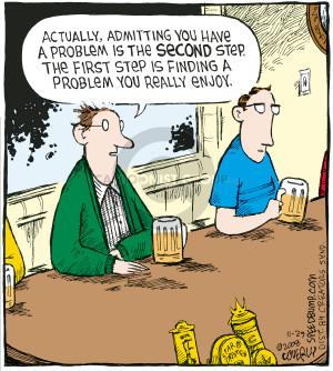 Cartoonist Dave Coverly  Speed Bump 2008-11-29 addictive