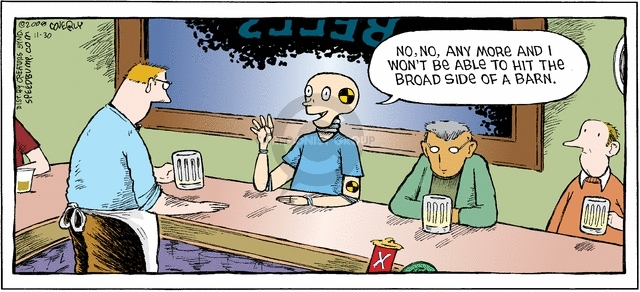 Cartoonist Dave Coverly  Speed Bump 2008-11-30 aim