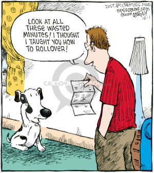 Comic Strip Dave Coverly  Speed Bump 2008-12-01 statement