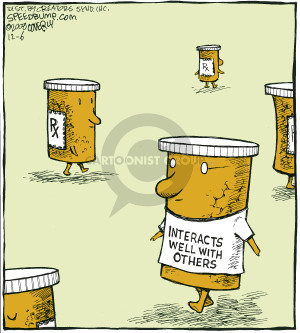 Comic Strip Dave Coverly  Speed Bump 2008-12-06 pharmaceutical