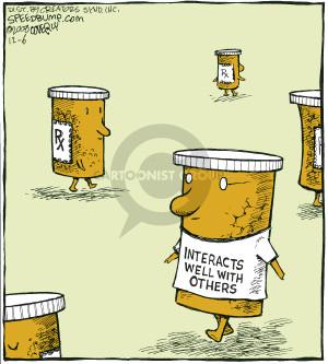 Comic Strip Dave Coverly  Speed Bump 2008-12-06 pill