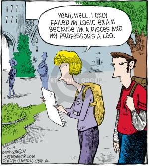 Comic Strip Dave Coverly  Speed Bump 2008-12-09 teacher