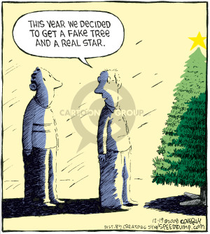 Comic Strip Dave Coverly  Speed Bump 2008-12-19 artificial tree