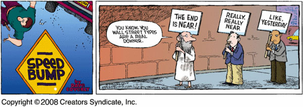 Comic Strip Dave Coverly  Speed Bump 2008-12-21 financial crisis