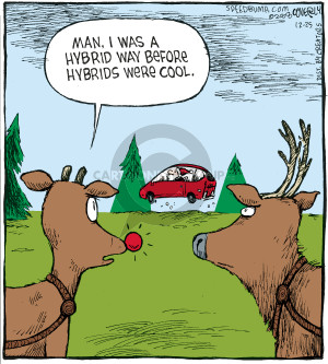 Comic Strip Dave Coverly  Speed Bump 2008-12-25 reindeer