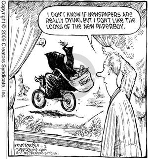 Comic Strip Dave Coverly  Speed Bump 2009-01-02 print