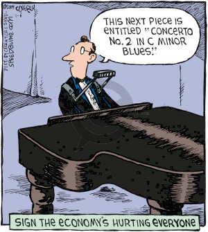 Cartoonist Dave Coverly  Speed Bump 2009-01-06 recession