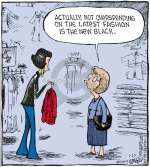 Comic Strip Dave Coverly  Speed Bump 2009-01-10 black