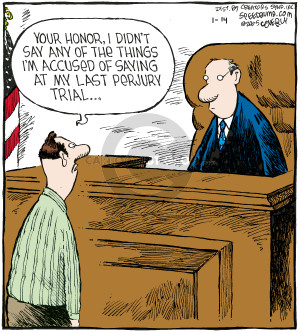 Cartoonist Dave Coverly  Speed Bump 2009-01-14 laws