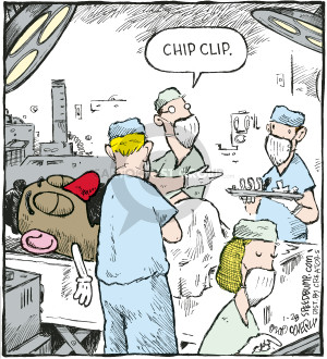 Comic Strip Dave Coverly  Speed Bump 2009-01-28 operating room