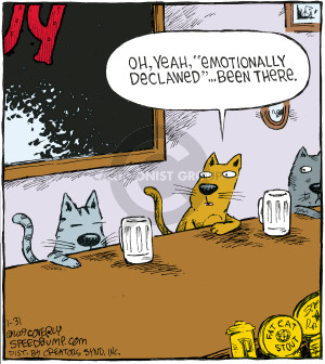 Comic Strip Dave Coverly  Speed Bump 2009-01-31 emotion