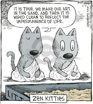 Comic Strip Dave Coverly  Speed Bump 2009-02-06 philosophy