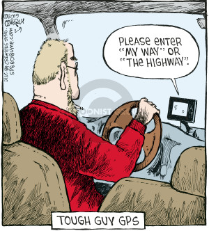 Cartoonist Dave Coverly  Speed Bump 2009-02-09 highway